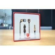 Fone Com Microfone Estéreo Fancy F-b03 Intra-auricular