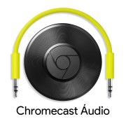 Google Chromecast Audio Hero Streaming Open Box