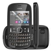 USADO Celular Nokia Asha 201 Só Funciona Vivo Mp3 Radio Fm
