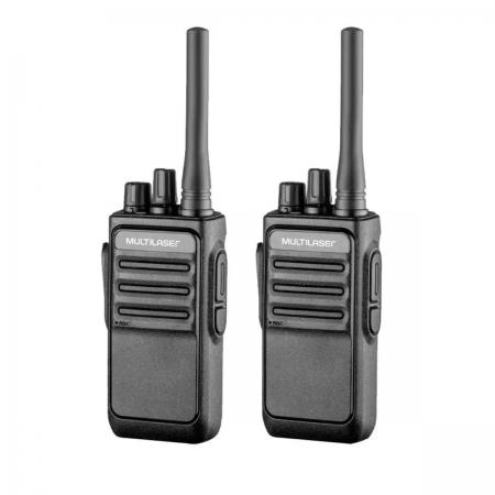 Radio Comunicador Portátil Walkie Talkie Multilaser Re020