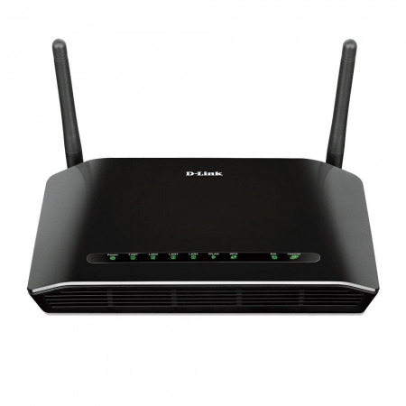 Roteador Wireless Wifi Adsl 300mbps D-link Dsl-2740e Outlet