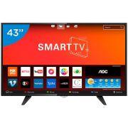 Smart Tv Led 43 Aoc LE43S5970 Full Hd 2 Usb 3 Hdmi Netflix