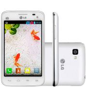 Smartphone Lg L4 II E470 Tri Chip Tela 3.8' Tv 4gb 3.15mp Usado