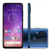 Smartphone Motorola One Vision 128gb 4gb Ram Tela 6.3' Azul
