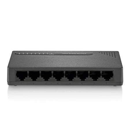Switch Hub Multilaser 8 Portas Vlan Fixa Poe 24v 10/100 Mbps