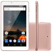 Tablet Multilaser M7S Plus nb275 Tela 7.0' 8gb wifi Quad Core Rosa Outlet