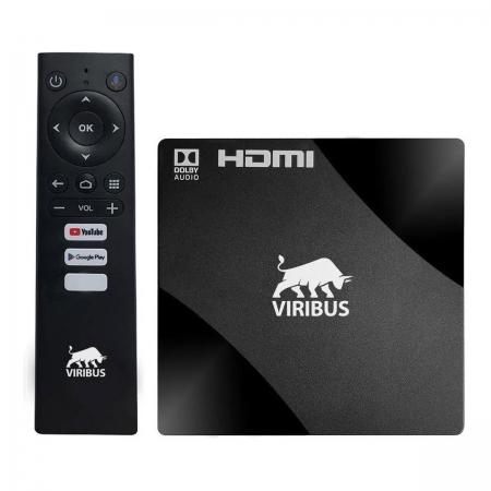 Tv Box Smart 4K Android 8Gb 2Gb Ram Anatel Nfe - Mostruário
