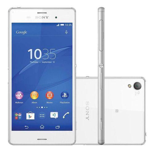 Sony Xperia Z3 D6643 4g Tv Digital Tela 5,2 16gb 20mp Outlet