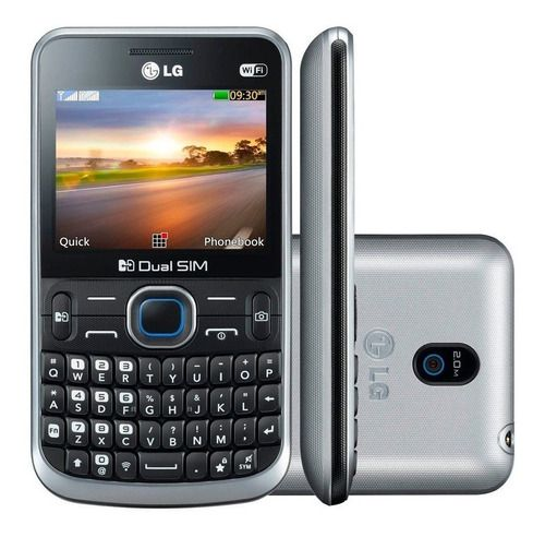 LG C397 Dual Chip Wi-fi Mp3 Player Desbloqueado Anatel