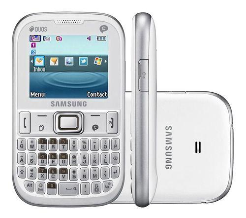 Samsung E1265 Dual Chip Teclado Qwerty Rádio Fm Mp3 Anatel