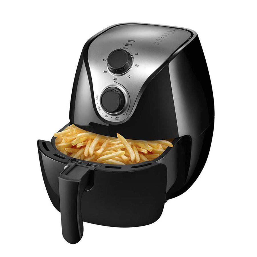 Air Fryer Fritadeira Sem Óleo Multilaser Ce021 4 Lts 1500w 127v Novo