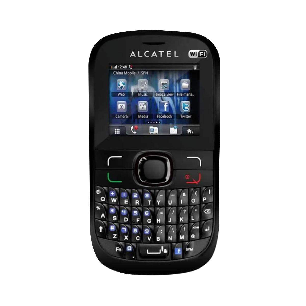 Alcatel Ot639 Dual Chip Qwerty Wi-fi Rádio Mp3 - Mostruário
