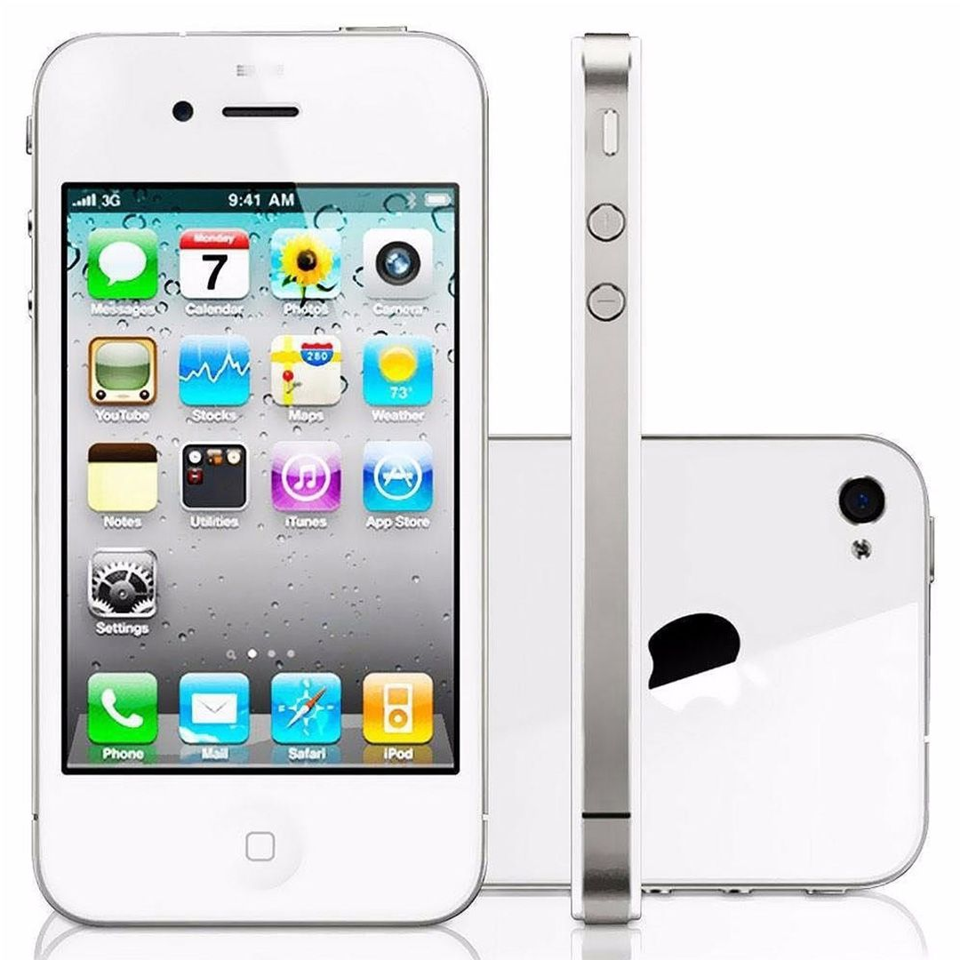 Smartphone Apple Iphone 4s 16gb Tela 3.5' 3g 8mp Wi-fi EXCELENTE