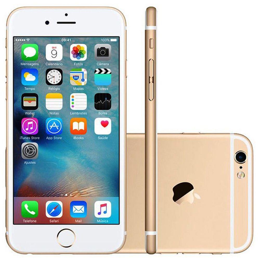 Smartphone Apple iPhone 6s 64GB Tela 4.7' 4G 12MP EXCELENTE (Open Box)