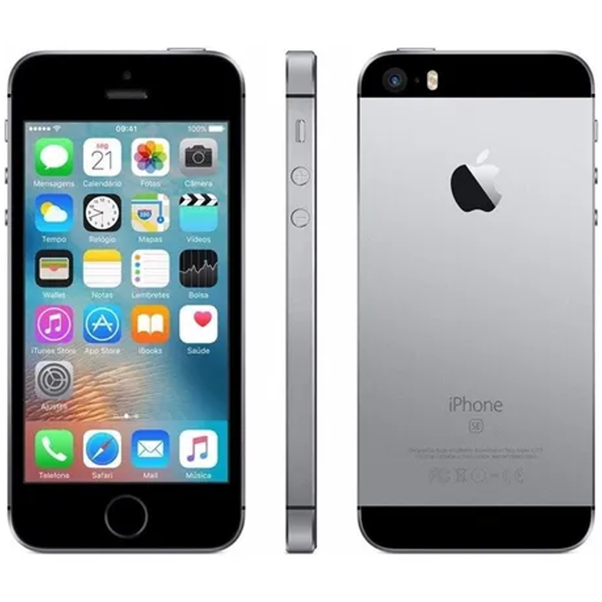 Apple iPhone SE 16gb Tela 4' Retina 12mp Anatel Seminovo