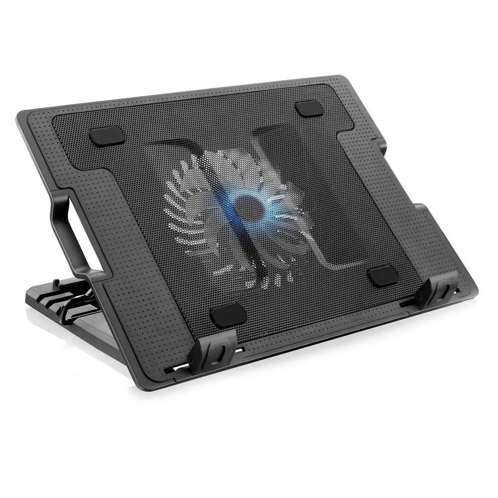 Base P/ Notebook Multilaser C/ Cooler 12cm Led E Usb Ac166