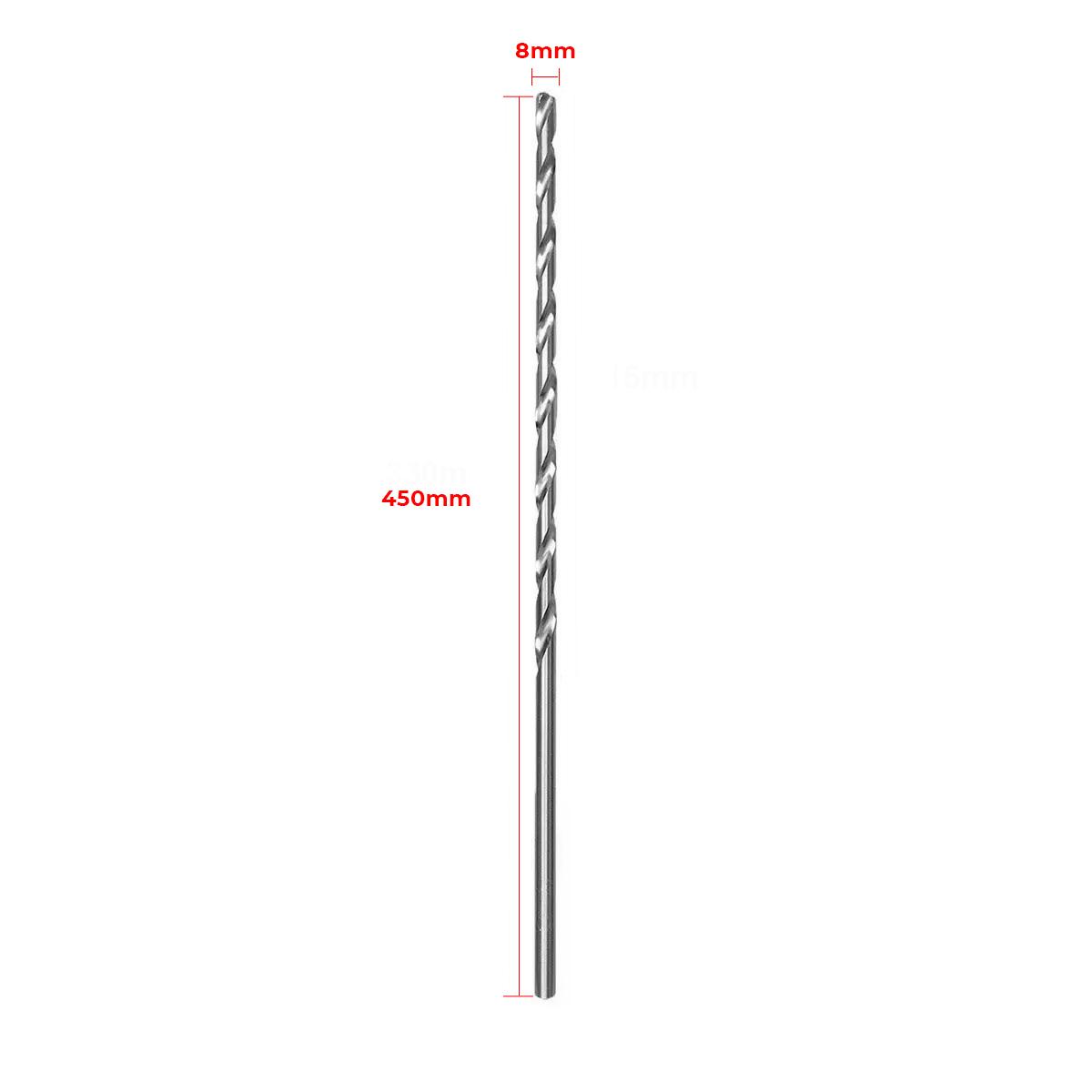 Broca Ht Plus Para Marteletes Concreto Alvenaria 8 X 450Mm