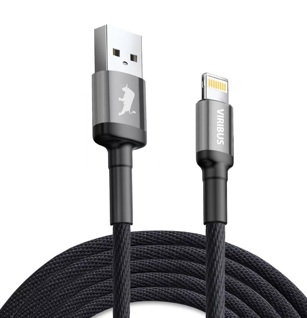 Cabo Lightning Para Iphone/Ipad Premium 1,5m Viribus