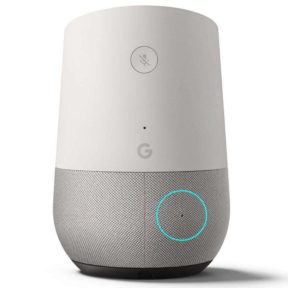 Caixa De Som Google Home Assistente Pessoal Vitrine Com Furo