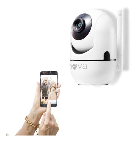Câmera Babá Eletrônica Wifi Robô Segurança Crianças E Idosos