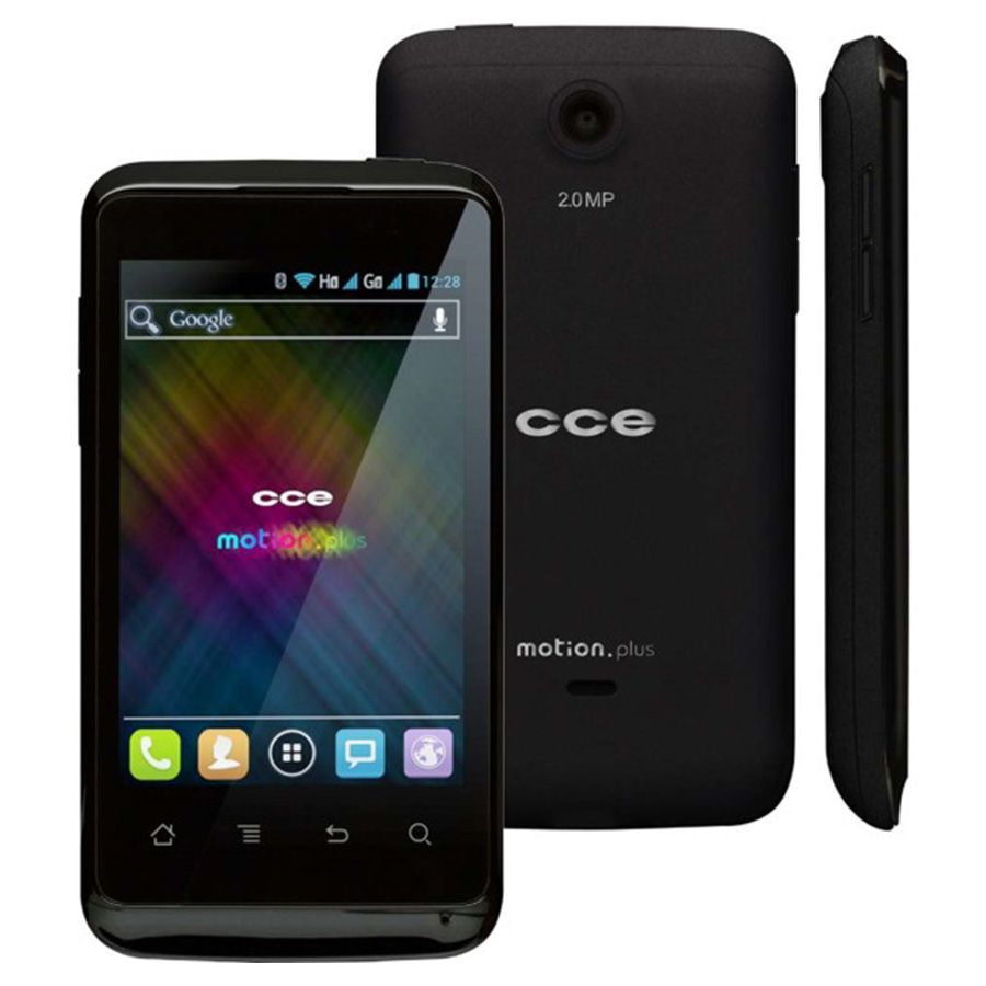 Cce Motion Plus Sk402 Tela 4.0 4gb 3mp 3g Android Usado