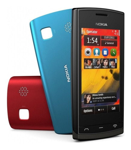 Celular Básico 3G Nokia 500 Tela Touch Cam 5mp Radio (Outlet)