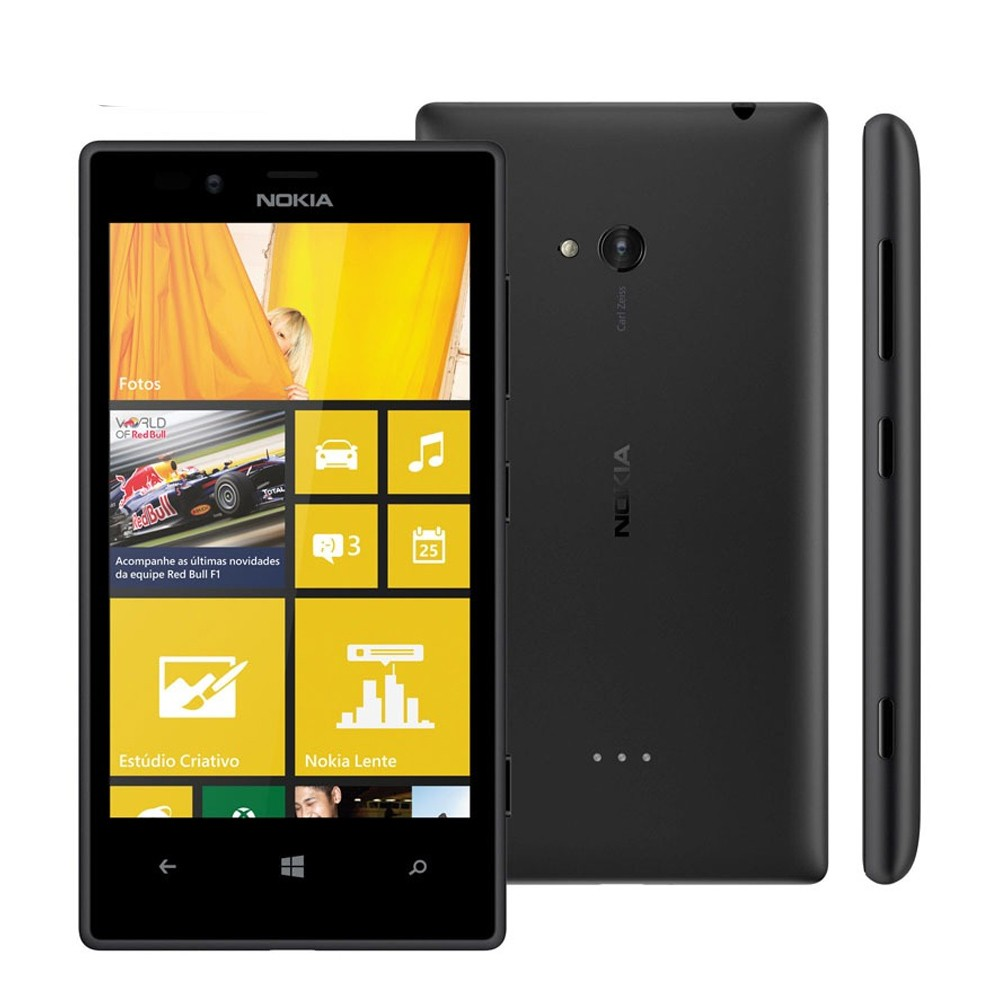 Celular Básico 3G Nokia Lumia 720 8GB (Outlet)