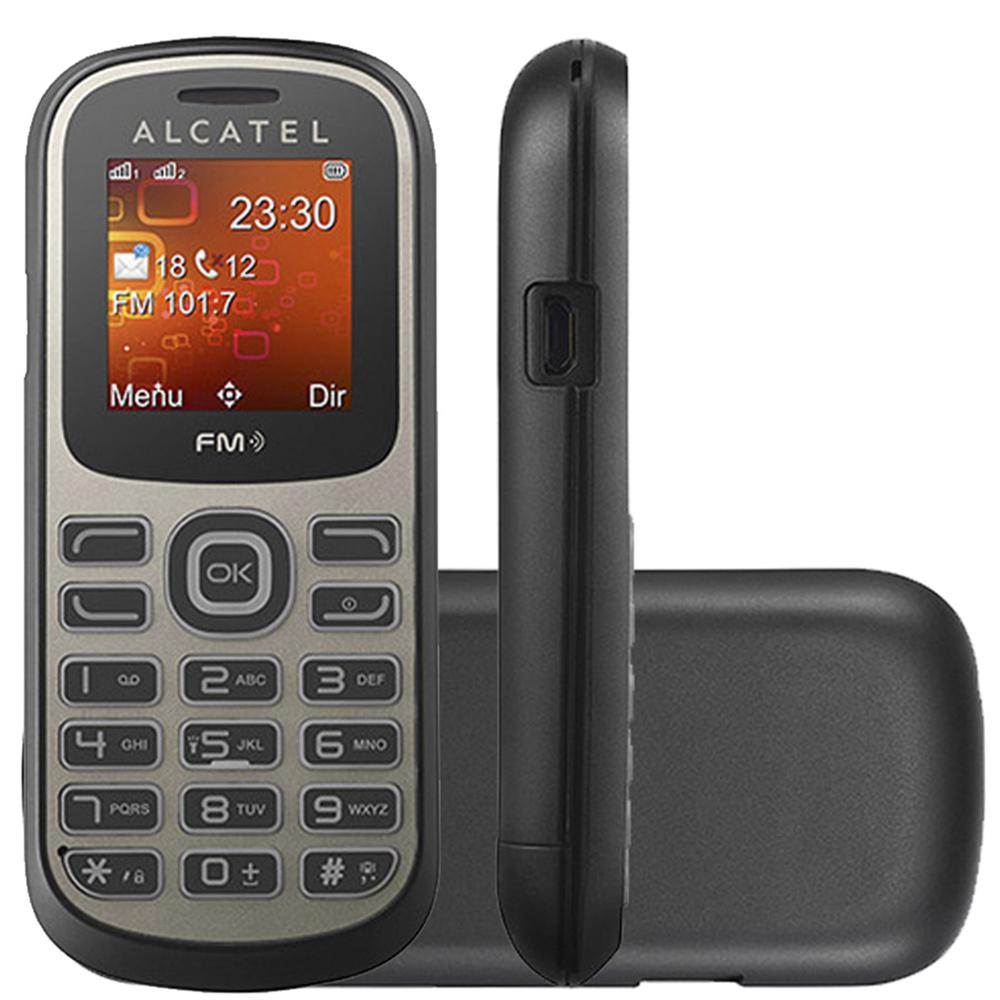 Celular Básico Alcatel OT228 Dual Rádio Fm Lanterna (Outlet)