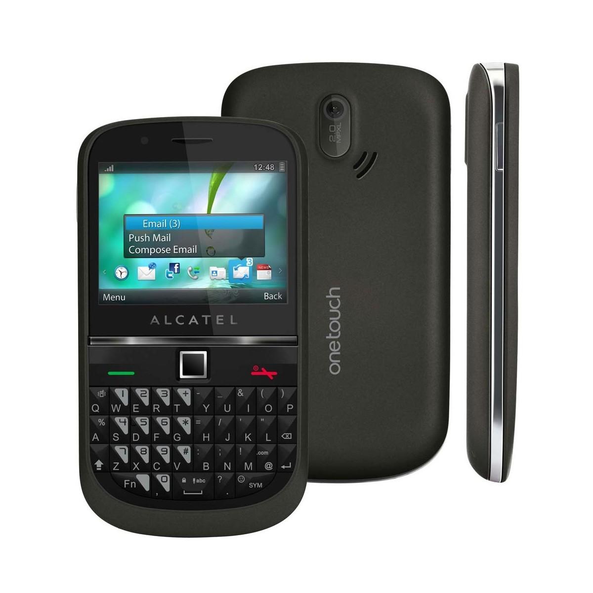 Celular Básico Alcatel OT900 3G Qwerty Mp3 Radio Fm (Usado)