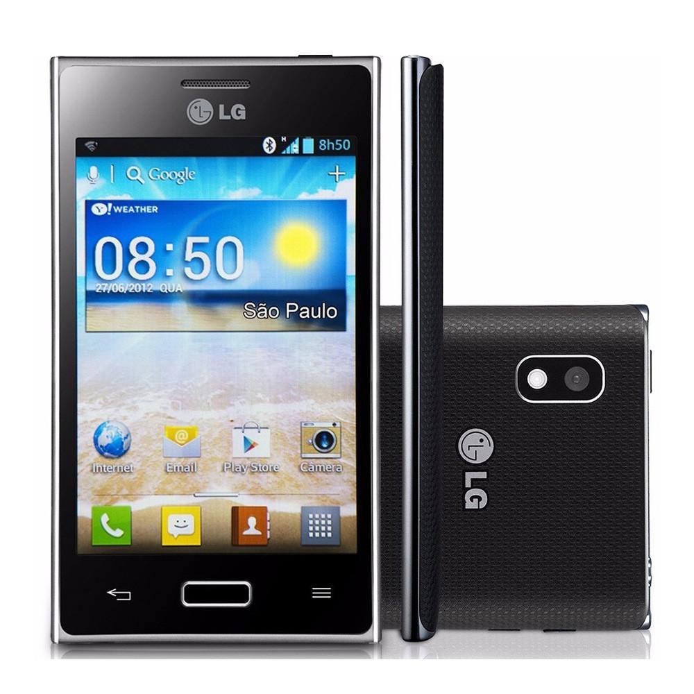 Celular Básico LG Optimus L5 E612 3G Tela 4' 4GB 5MP (Usado)