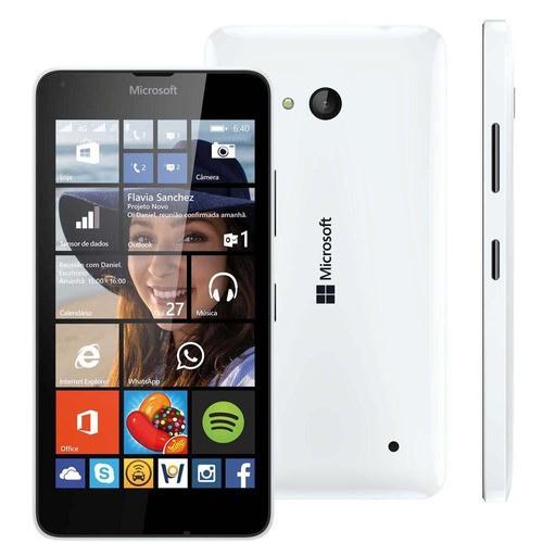 Celular Básico Microsoft Lumia 640 Lte 8gb Tela 5 8mp Anatel