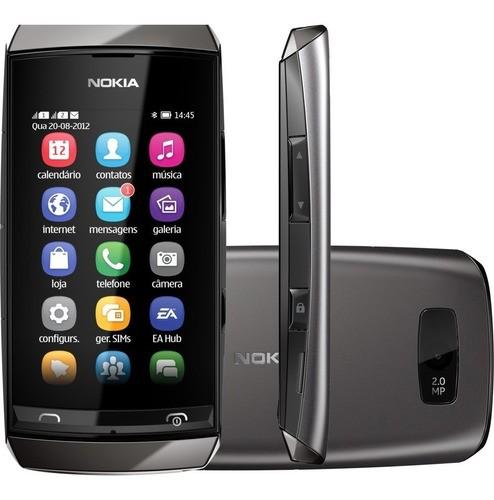 Celular Básico Nokia Asha 305 Dual Rádio Fm Câmera Bluetooth
