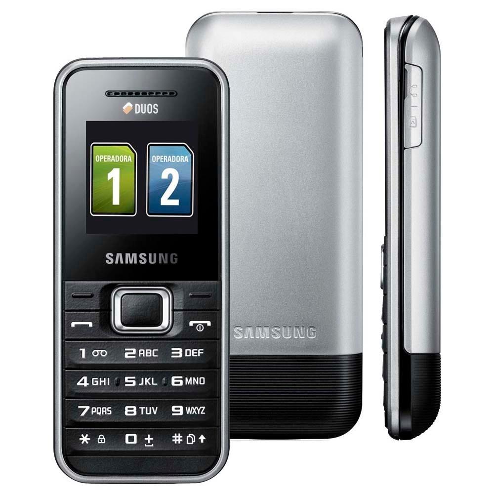 Celular Básico Samsung E1182 Dual Chip, Mp3, Radio Fm Anatel