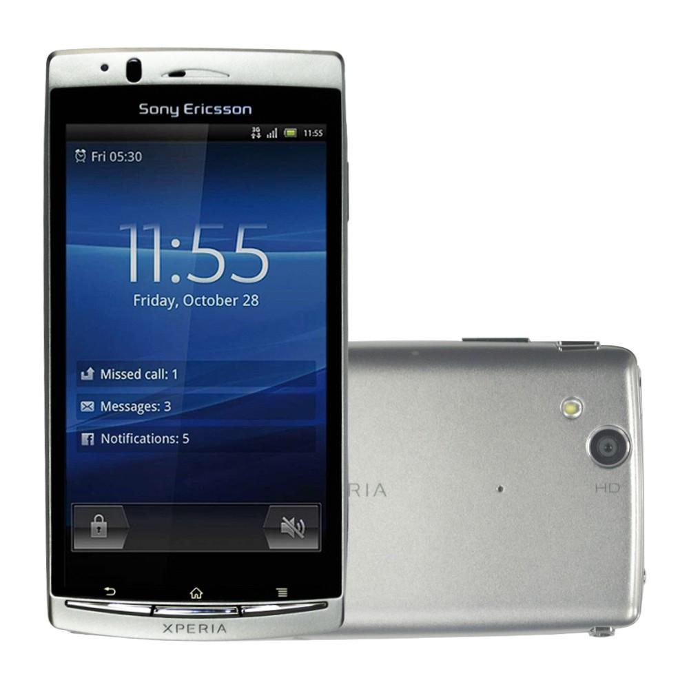 Celular Básico Sony Xperia Arc S Lt18 1gb 4.2' 8mp Anatel
