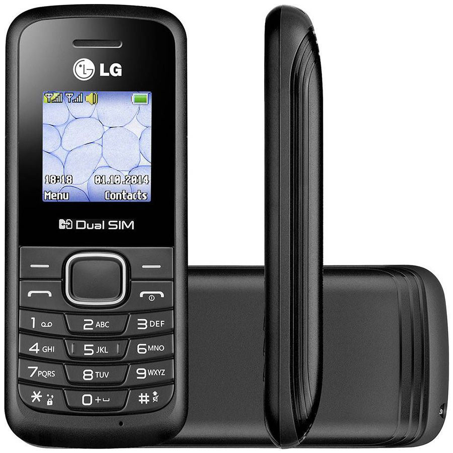 Celular LG B220 Dual Radio Fm Mp3 Lanterna Idoso Anatel