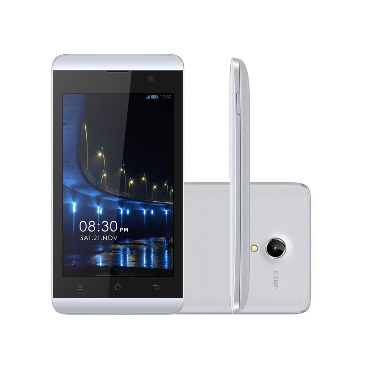Celular Meu AN400 Dual Tela 4' Redes Sociais Wi-fi 3G (Outlet)