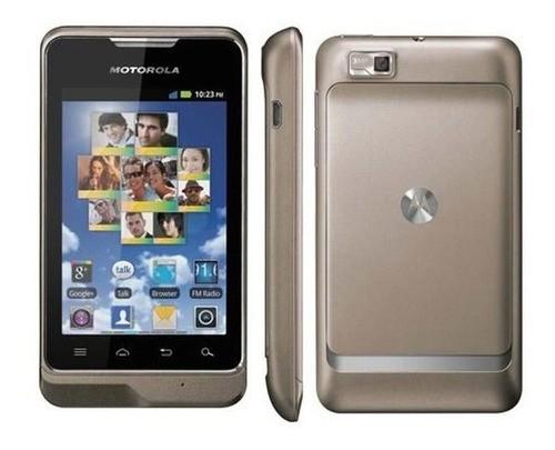 Celular Motorola XT389 Wifi 3G Fm GPS Entrada Antena Rural (Outlet)