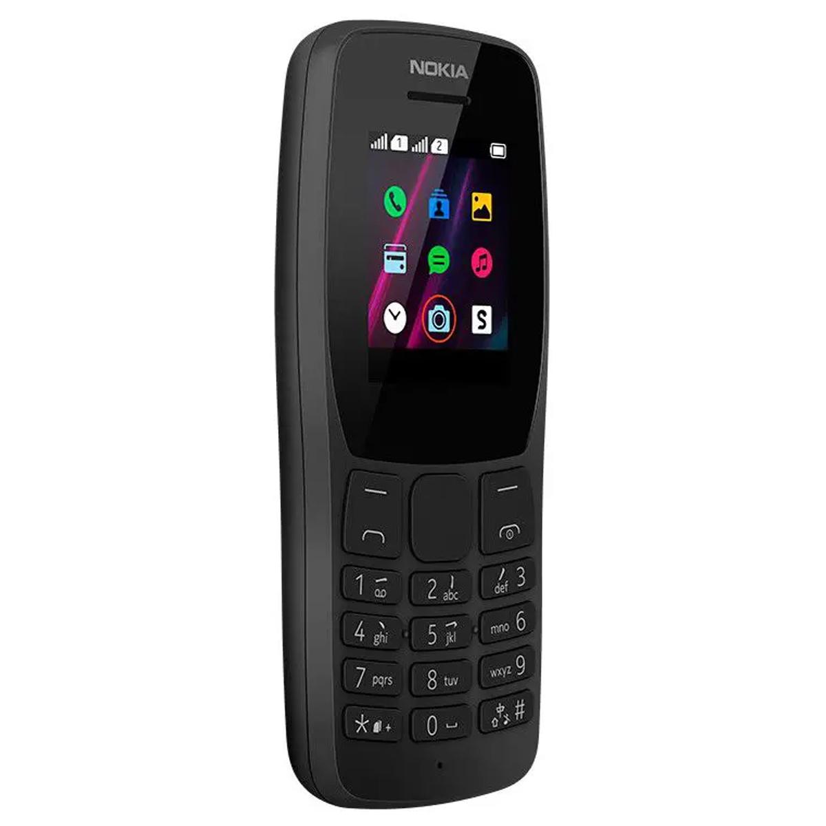 Celular Nokia 110 Rádio Fm Mp3 Câmera Vga E 4 Jogos Nk006