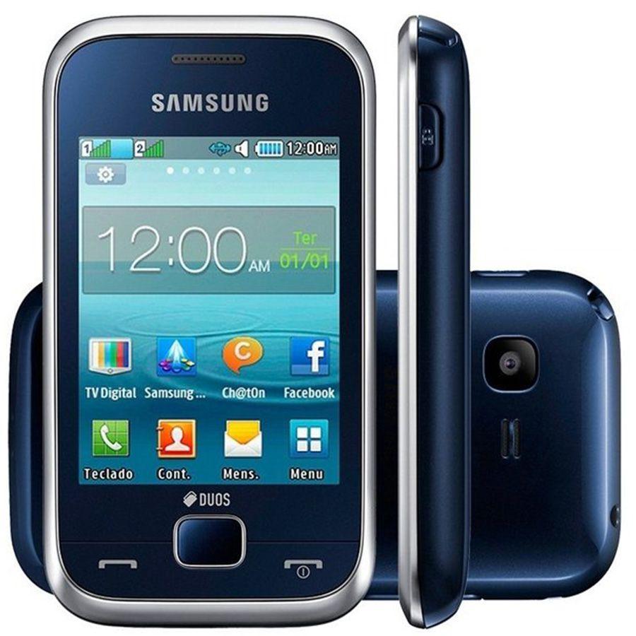 Celular Samsung Rex C3313 Dual Câmera Rádio Mp3 Usado