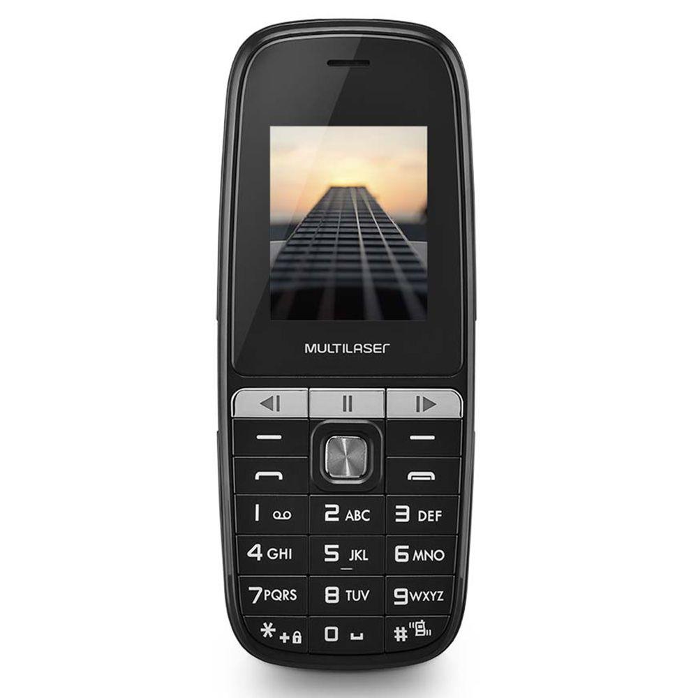 Celular UP Play Multilaser P9076 Dual Chip MP3 Camera Lanterna