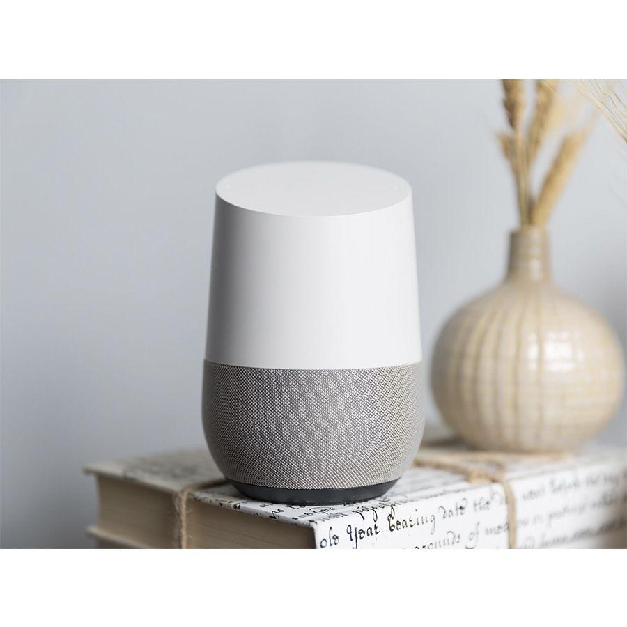 Google Combo Com 04 Google Home Caixa De Som Speaker Wifi Vitrine