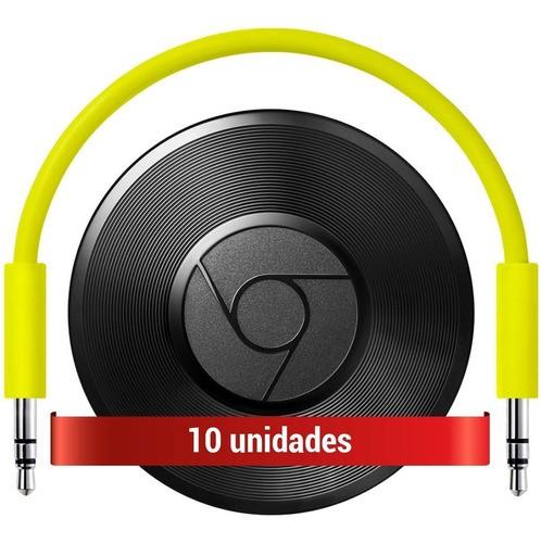Combo Com 10 Google Chromecast Audio Hero Streaming (Open Box)