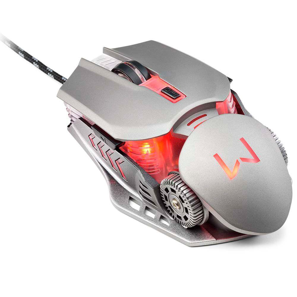Combo Warrior Ragnar Keon Teclado E Mouse Gamer Rgb