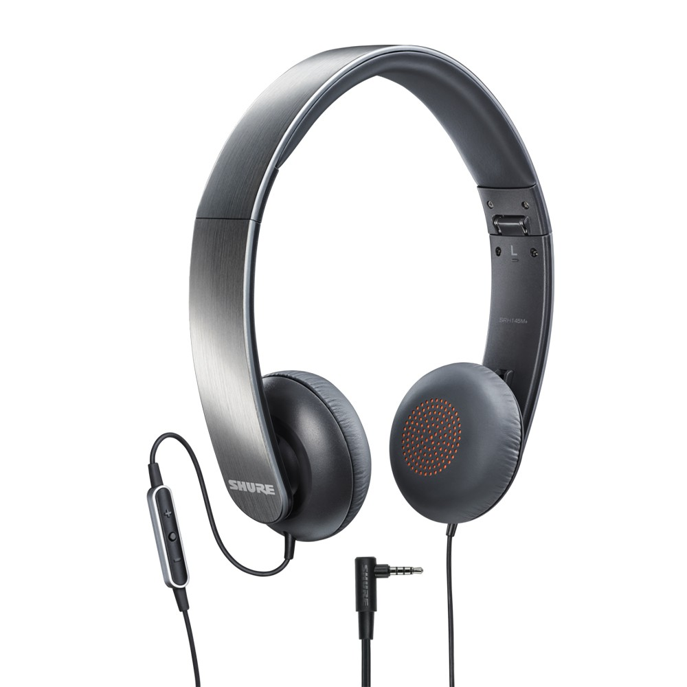 Fone De Ouvido Com Microfone Headset Shure Srh145m+ NOVO