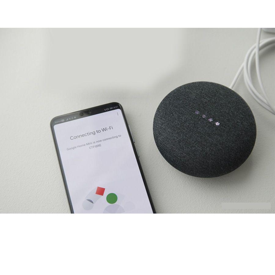 Google Home Mini Assistente Pessoal Caixa De Som Speaker Wi-fi Outlet