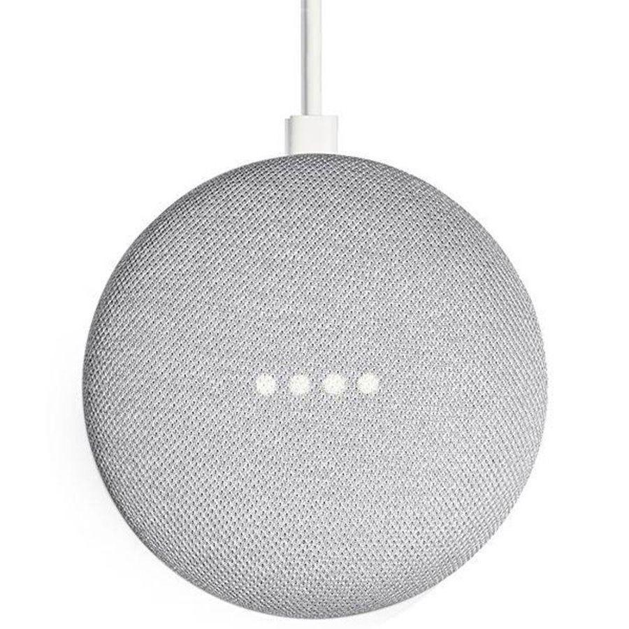 Google Home Mini Assistente Pessoal Caixa De Som Wi-fi  Vitrine Cinza Claro