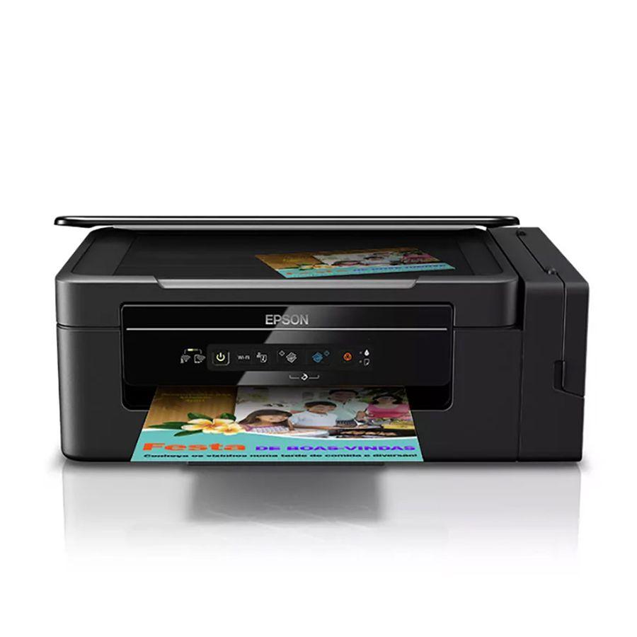 Impressora Multifuncional Epson Ecotank L396 + Mouse Logitec