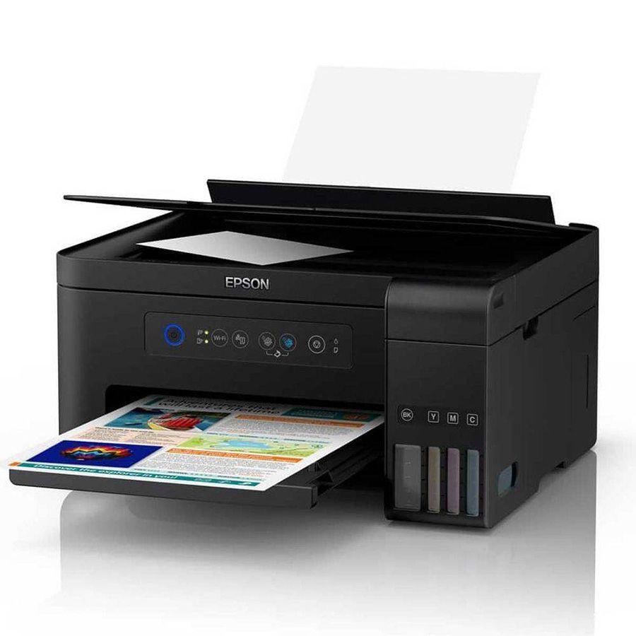 Impressora Multifuncional Epson Jato De Tinta Wi-fi L4150