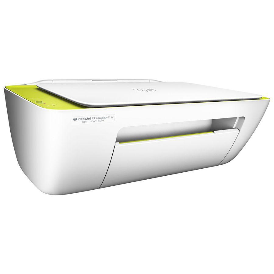 Impressora Multifuncional Hp Deskjet Ink Advantage 2135 Novo