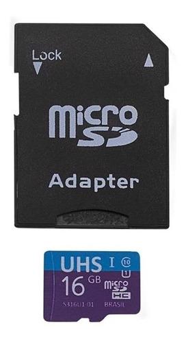 Kit 4x1 Adaptador Usb Dual Drive + Sd + Cartão Memória 16gb - MC150